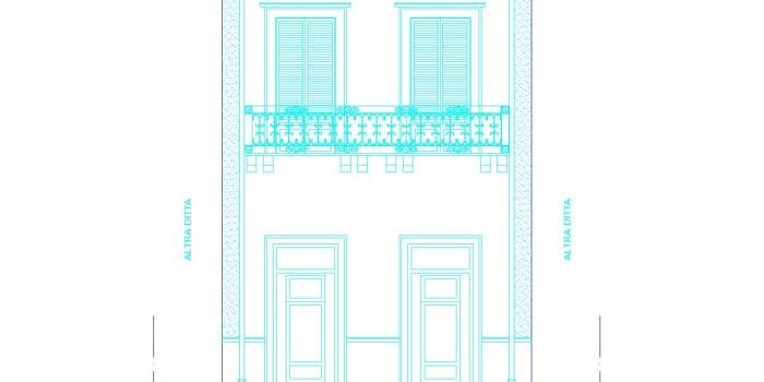 Ristrutturazione completa immobile in centro storico a Mazara del Vallo