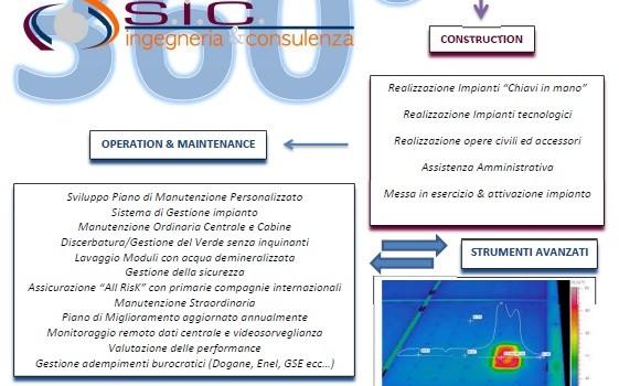 SIC s.r.l. presenta il nuovo sistema integrato per la manutenzione e gestione di impianti fotovoltaici